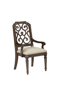 Vintage Salvage - Tristan Fret Back Arm Chair