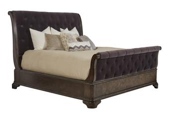 Landmark - 6/6 Uph Sleigh Bed
