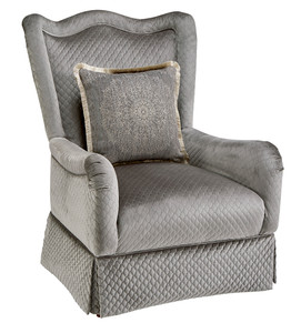 Giovanna Bezel Accent Chair