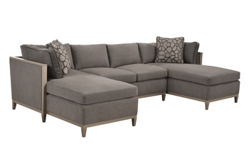 Cityscapes Uph - Astor Accolade Armless Love Seat