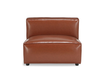 Bobby Berk Uph - Olafur Armless Chair - Vegan Leather