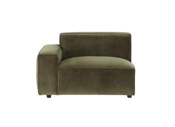 Bobby Berk Uph - Olafur LAF Chair - Moss Velvet