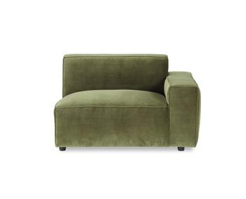 Bobby Berk Uph - Olafur RAF Chair - Moss Velvet
