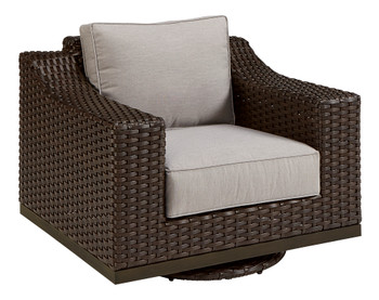 Brannon Outdoor - Swivel Club Chair