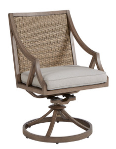 Summer Creek Outdoor - Swivel Rocker Dining Chair