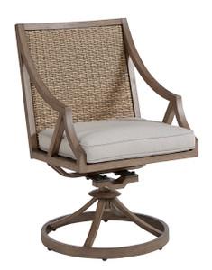 Summer Creek Outdoor - Swivel Rocker Dining Chair