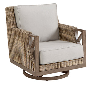 Summer Creek Outdoor - Swivel Rocker Club Chair