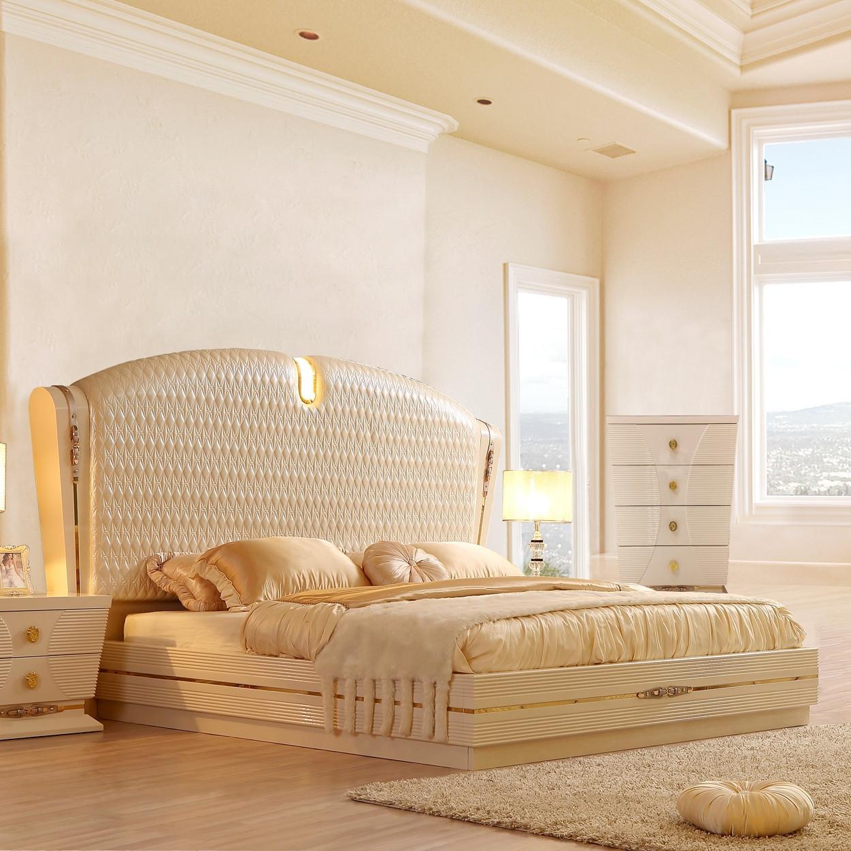 Como California King Bed World Of Decor