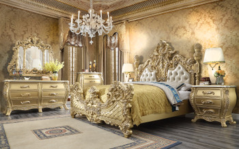 Elise Grand Eastern King Bedroom Set of 5