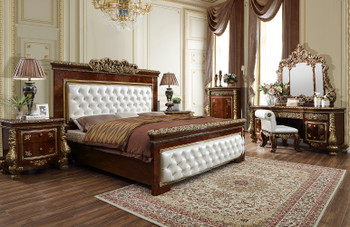 Victoria California King Bedroom Set  of 5