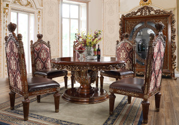 Linville Round Dining Set of 5