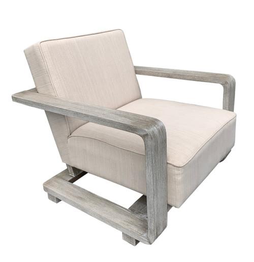 Mystique Gray Mid Century Modern Fire Side Chair