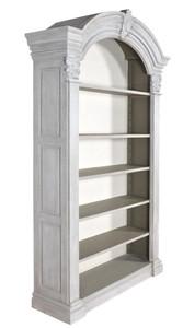 Mystique Gray Continental Casual Bookcase