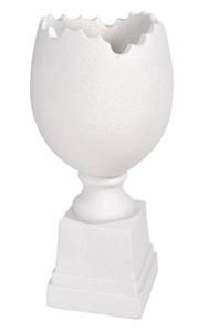 Egg White Vase