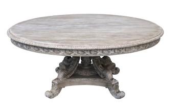 Mystique Gray Anglia 60'' Rd Table