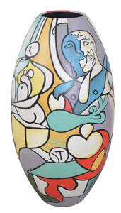 Picasso Multicolor 32 inch floor vase