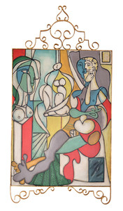 Iron Picasso Multicolor Wall Art