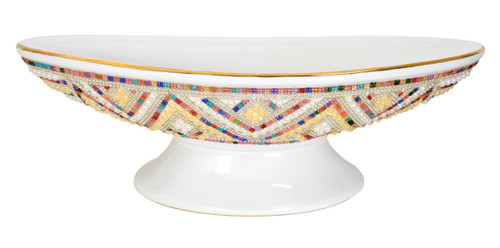 White Crystal Rainbow Center Piece
