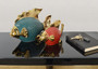 Fish Colorful Set of 2