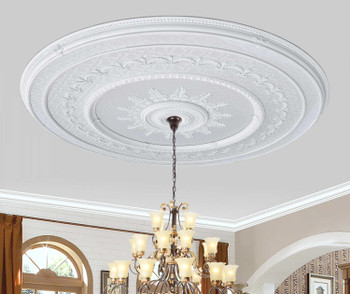 Blanco Grand Ceiling Medallion 98.5 Inch Diameter