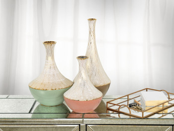 Multi Gourd Vase Set of 3