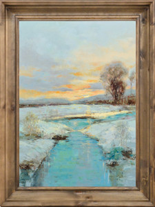 Sunset Snowy River Banks