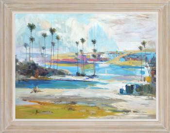 Coastal Palms 36x48