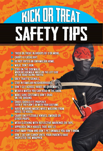 Halloween Safety Tips V8 Martial Arts Marketing